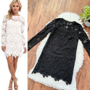 NWT StyleStalker Moss Long Sleeve Lace Dress